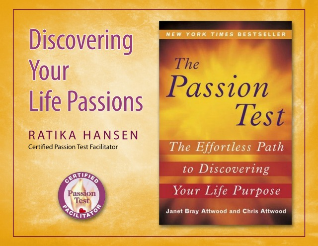 Discover Your Life Passions
